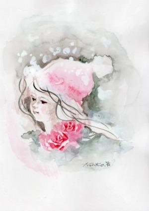薔薇の雪ん子